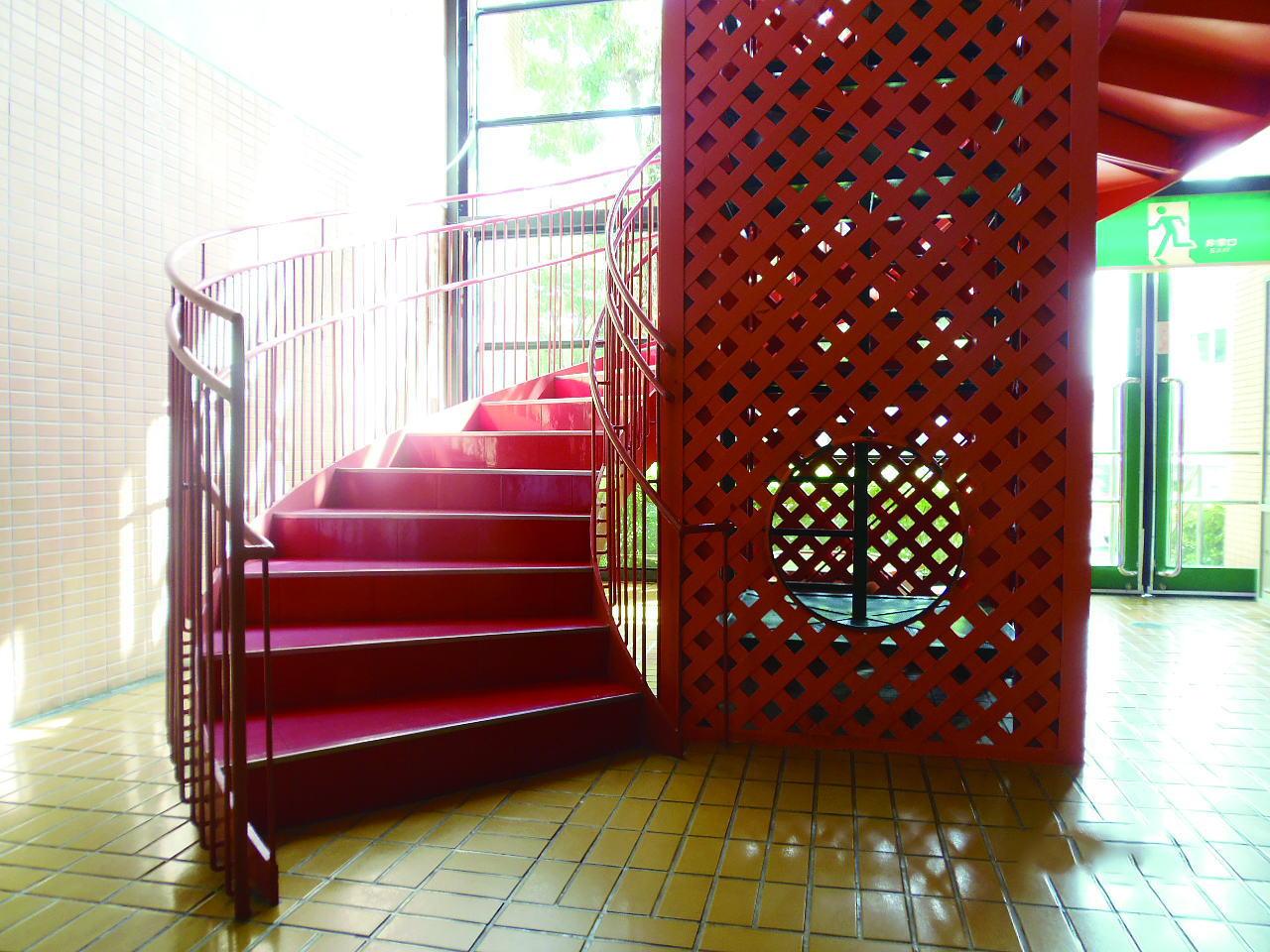 らせん階段2